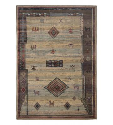 Teppich Gabiro Des.002 Gabbeh Optik - Beige