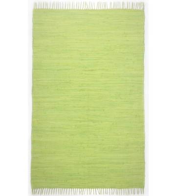 Teppich Läufer Happy Cotton Uni - Grün