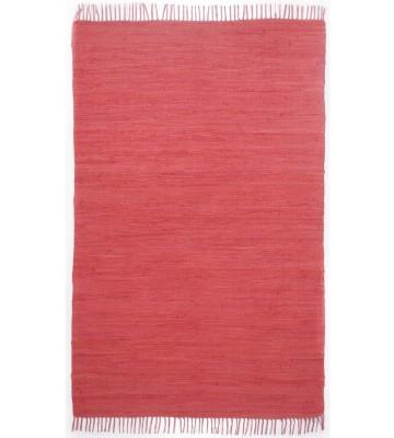 Teppich Läufer Happy Cotton Uni - Rot