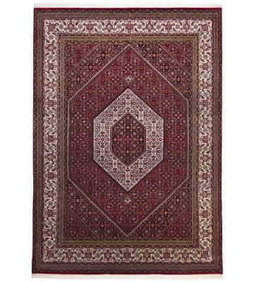 Teppich Sirsa Seta Bidjar - Rot