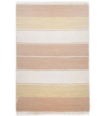 Webteppich Happy Design Stripes - Beige