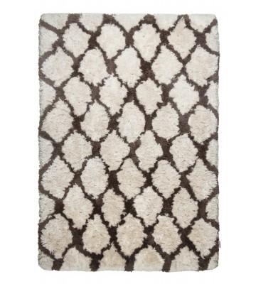 Berber Teppich - Flocatic Pattern Lines - Braun