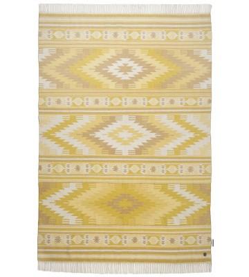 Ethno Teppich - Kelim Colors I - Gelb