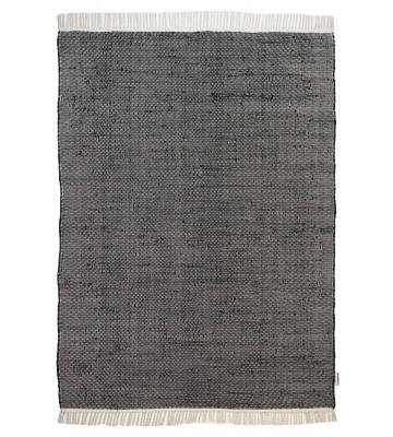 Flickenteppich - Cotton Color - Schwarz