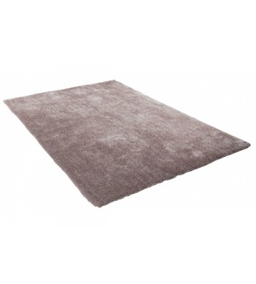 Hochflor Teppich - Soft Uni (Light Brown)