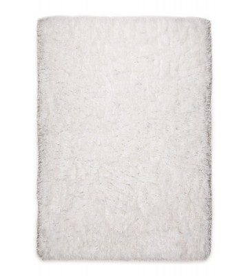 Langflor Teppich - Flocatic - Weiß
