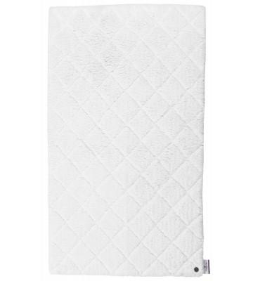 Tom Tailor Badematte Cotton Pattern - Weiß
