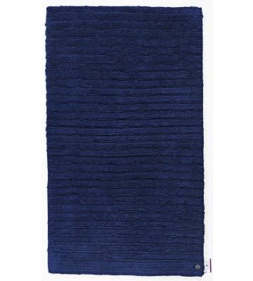 Tom Tailor Badezimmerteppich Cotton Stripe - Navy