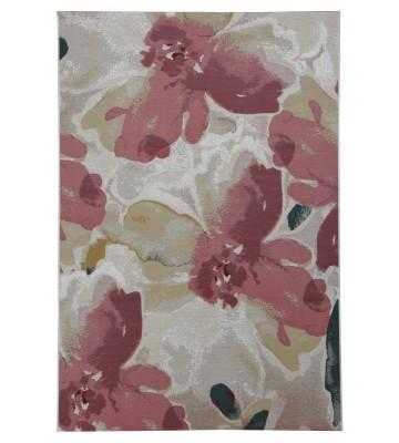 TOM TAILOR Teppich Garden Blossom - Rosa