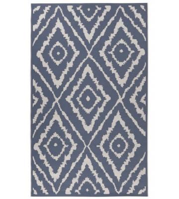 TOM TAILOR Teppich Garden - Pattern - Blau