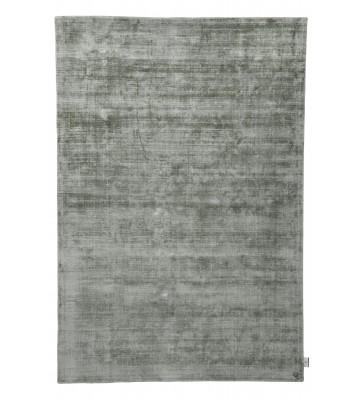 TOM TAILOR Viskose Teppich - Shine Uni - Dschungelgrün