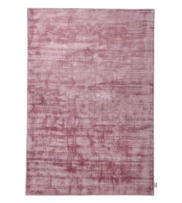 TOM TAILOR Viskose Teppich - Shine Uni - Rosé