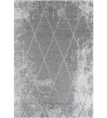 Vintage Teppich - Fine Lines - Grau