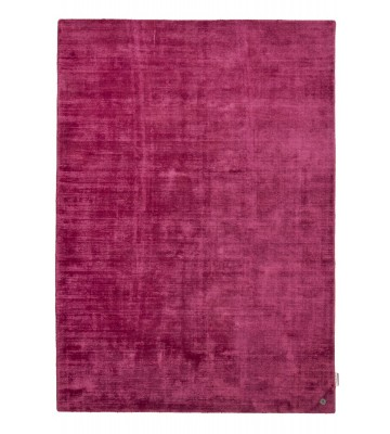 Viskose Teppich - Shine Uni - Pink