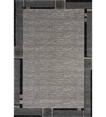 Bordürenteppich Florenz - (Grau)
