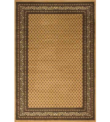 Bordürenteppich Marrakesh - feines Ornament - (Beige)