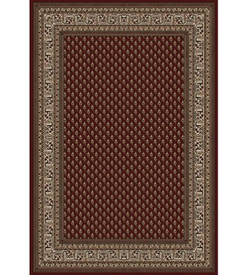 Bordürenteppich Marrakesh - feines Ornament - (Rot)