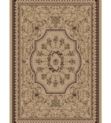 Bordürenteppich Marrakesh - Florals - (Beige)