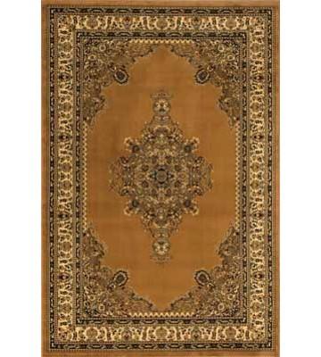 Bordürenteppich Marrakesh - Kreuzornament - (Beige)