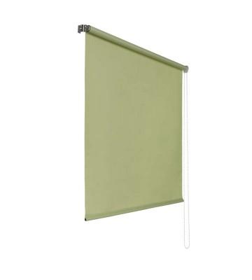 Lichtdurchlaessiges Seitenzugrollo - Grün
