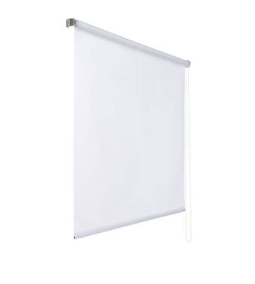 Lichtdurchlaessiges Seitenzugrollo - Weiß