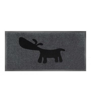 Schmutzfangmatte Hund (Grau)