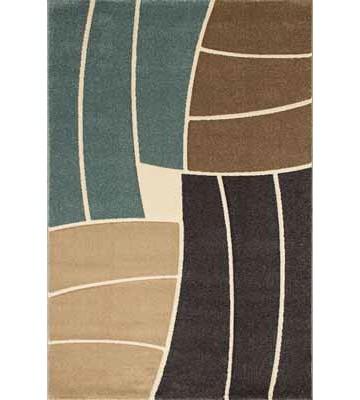 Teppich Florenz - Funny Stripes - (Blau)