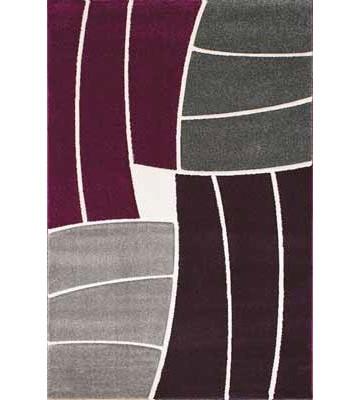 Teppich Florenz - Funny Stripes - (Lila)