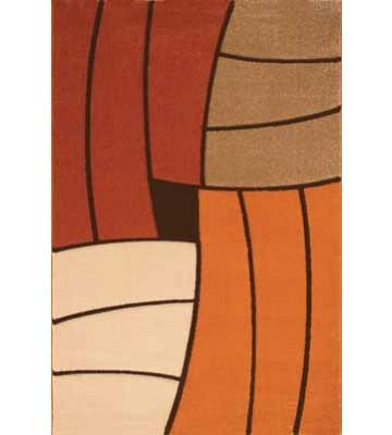 Teppich Florenz - Funny Stripes - (Terra)