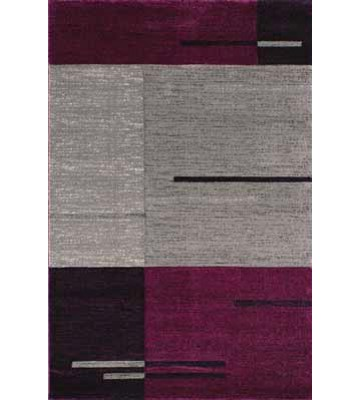Teppich Florenz - Lines Up - (Lila)