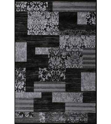Teppich Patchwork Art - (Schwarz)