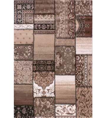 Teppich Patchwork Ornament - (Beige)