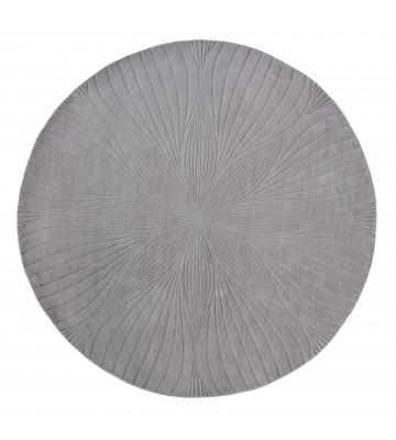 Wedgwood Designer Teppich Folia - Rund - - Grau