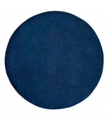 Wedgwood Designer Teppich Folia - Rund - - Navy