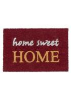 ASTRA Kokosmatte - Coco Glitter Home Sweet Home (Rot)