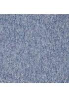 Melierte Teppichfliese Largo (Blau)