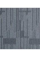 Schlingen Teppichfliese Zenit (Grau)