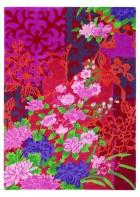 Blumenteppich Yara Garland 133300 - Rosa
