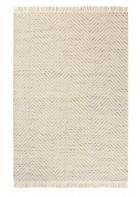 Brink&Campman Flachgewebe Teppich Atelier Twill - Einzelstück (Creme)