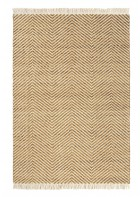 Brink&Campman Flachgewebe Teppich Atelier Twill - Einzelstück (Ocker)