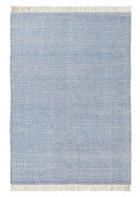 Brink&Campman Designer Flachgewebe Teppich Atelier Craft Blau
