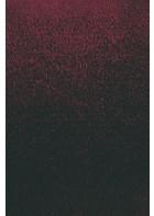 Designer Frisee Teppich Twinset Uni Cut - Bordeaux