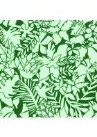 Caselio - Florale Tapete - SMILE ALOHA SMIL69827606 (Moosgrün)