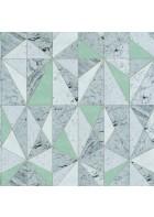 Caselio - Marmor Tapete - MATERIAL MARBRE MATE69596006 (Grün)