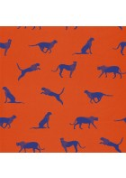 Caselio - Motivtapete Leopard - SMILE FELIN SMIL69743712 (Orangegelb)
