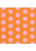 Caselio - Retro Tapete - SMILE POM POM GIRL SMIL69732818 (Sonnengelb)