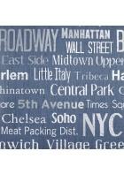 LIFE - LIF64426078 Tapete: Manhattan (Blau)