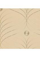 Colani Evolution Tapete 56333 - EINZELROLLE (Beige)