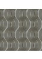 Colani Legend Tapete - Helix Spirale mit Carbonprägung (Aluminiumgrau)