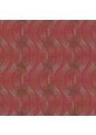 Colani Legend Tapete - Helix Spirale mit Carbonprägung (Burgunderrot)